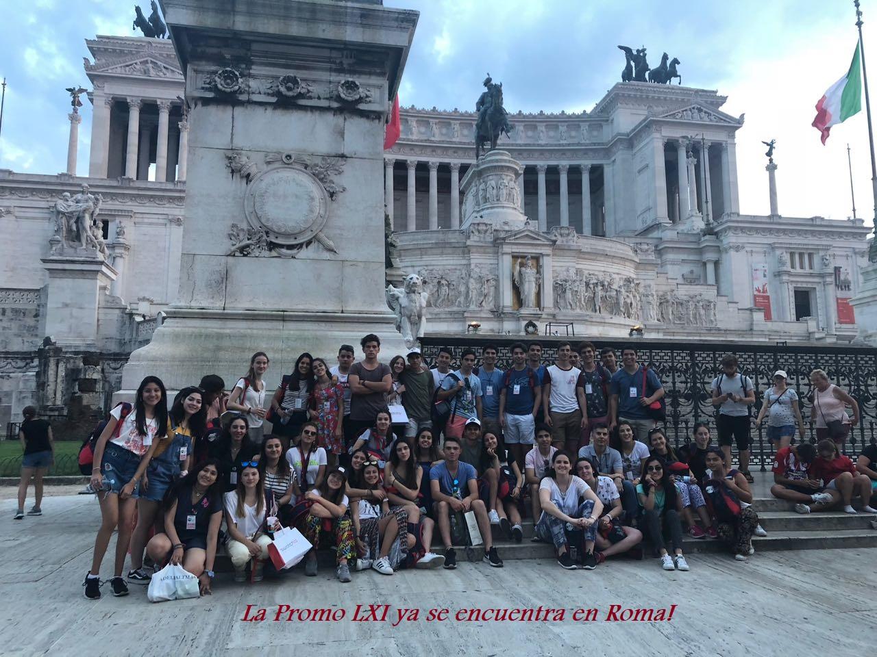 Viaje de Peregrinación y Estudio a Roma –  Año 2018